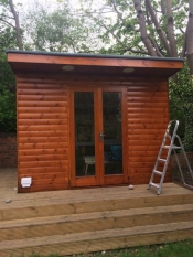 Outdoor Cabin Varnish